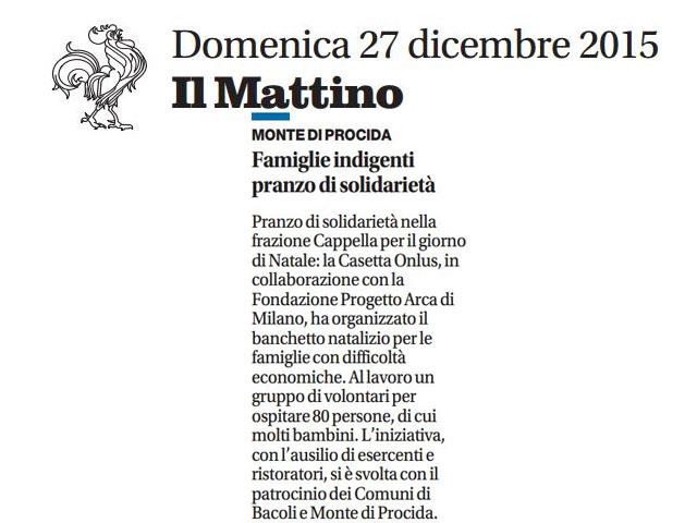 Articolo Mattino