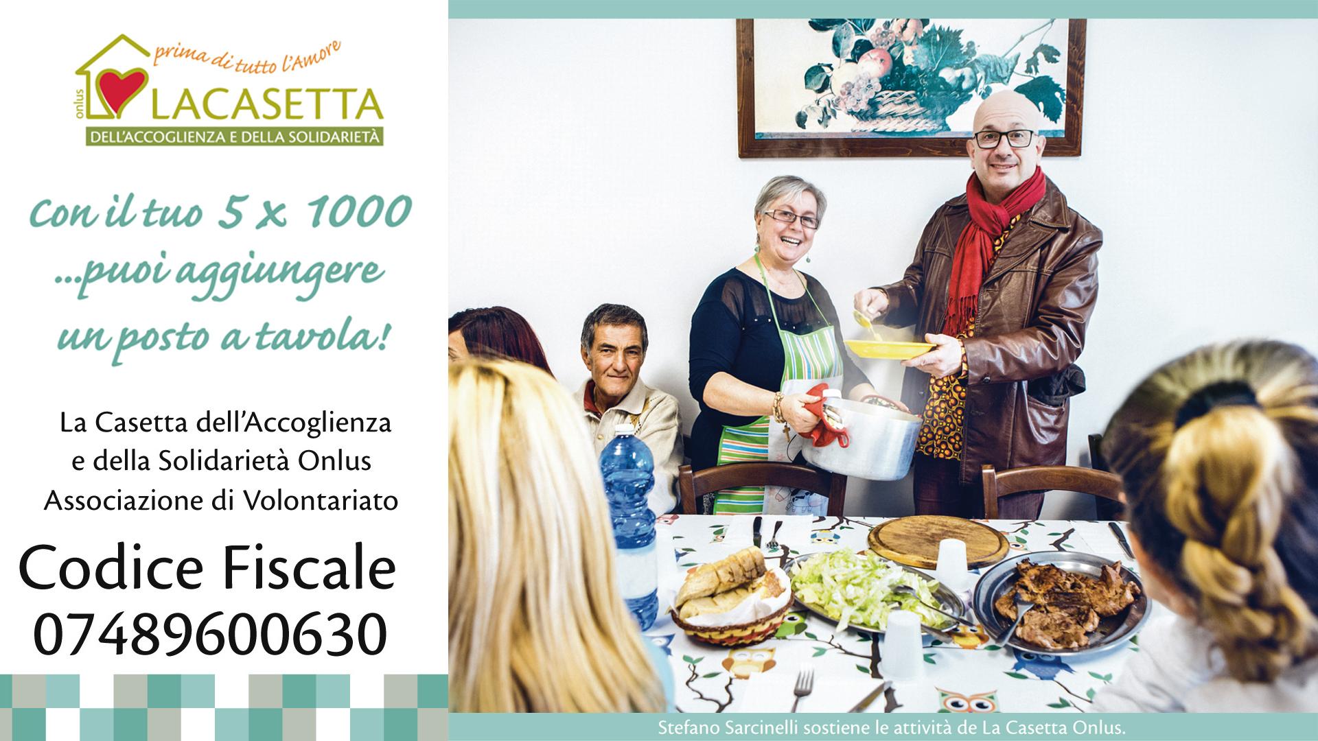 Dona il tuo 5×1000 a La Casetta Onlus